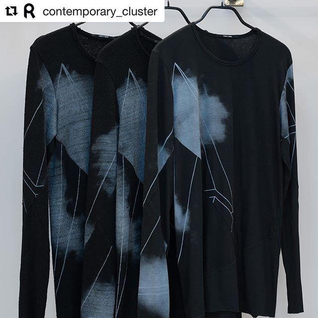 #Repost @contemporary_cluster with @repostapp ・・・ T-shirt handmade Limited edition. 5 pezzi in 100% raw japanese silk // 10 pezzi in 100% cotone. Stampate a mano una alla volta. Tutti pezzi unici diversi fra loro. In vendita, in galleria, presso il corner Lumet et Umbra.  #contemporarycluster #lumenetumbra #fashion #japanese #silk #cotton #tshirt #limitededition #handmade #artist #artwork #newstyle #newlife #change #rome #goodvibes #contemporaryart #fineart #artgallery #modernart #artists…