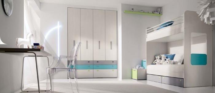 dormitorios para niños con litera