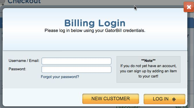 Login or create a new account so that the system will correctly set your details as the owner of the new domain.