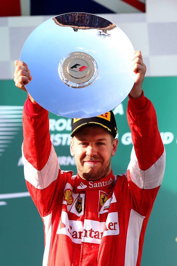 Sebastian Vettel in Australian F1 Grand Prix