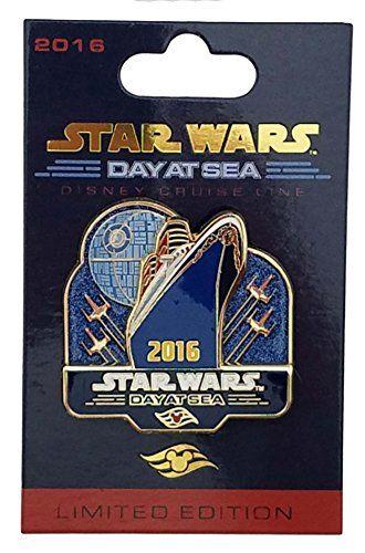 Disney Pin - DCL - Star Wars Day at Sea Logo //Price: $27.99 & FREE Shipping //     #starwarslife