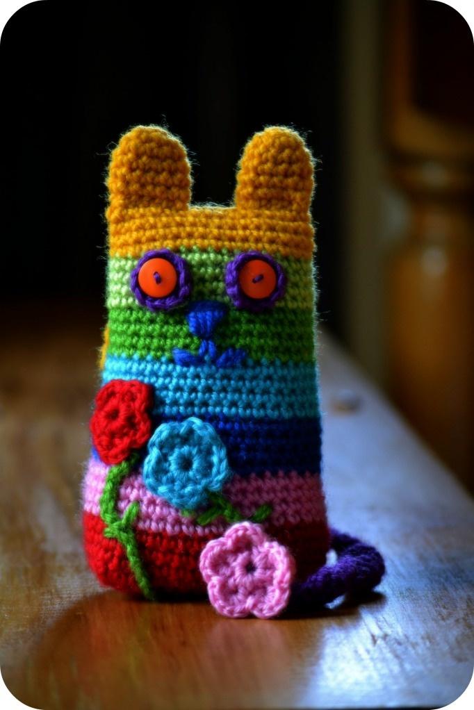 Green Dragonfly Tutorial: Crochet Cat