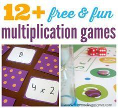 Free Multiplication Games for Kids