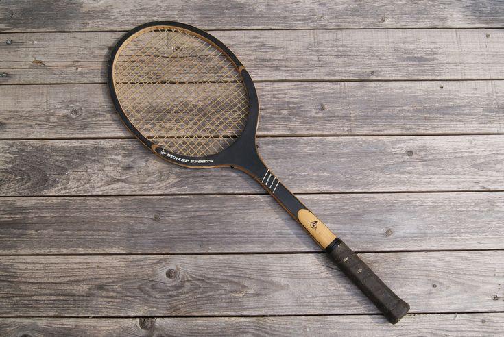 Vintage Dunlop Wooden Tennis Racket Classic Tennis Racquet Etsy Tennis Racket Rackets Tennis