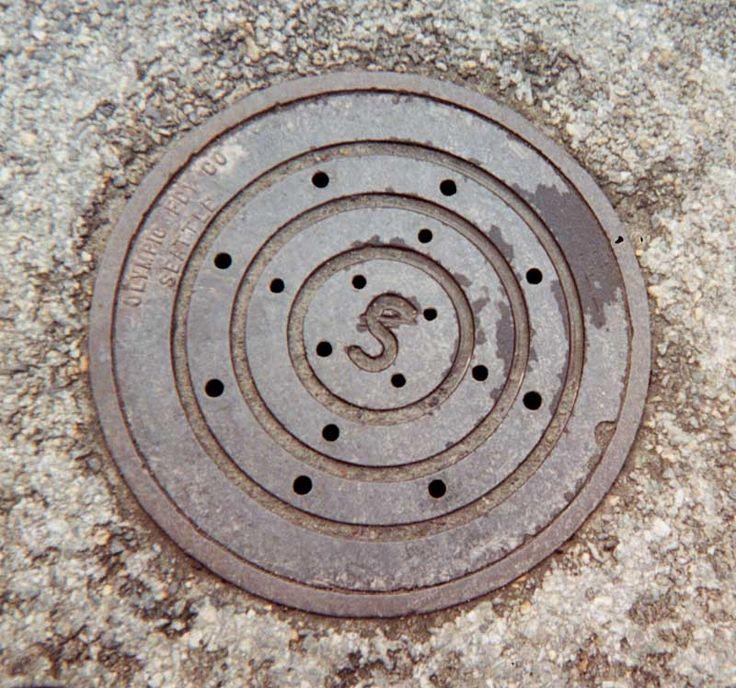 Manhole Cover - Skagway, Alaska