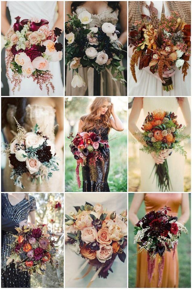 Fall Bouquets for Autumn | Brides Bridal Musings Wedding Blog #fallbouquet #autumnbouquet #fallwedding