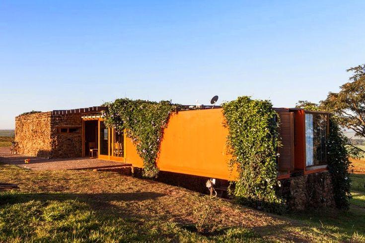 Container SA: Casa Container Híbrida (6 Modelos que Utilizam outros Sistemas Construtivos)