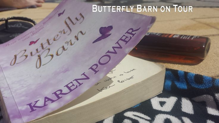 www.karenpowerauthor.com Butterfly Barn enjoying the sunshine in Orihuela Costa, Torrevieja in Alicante, Spain.