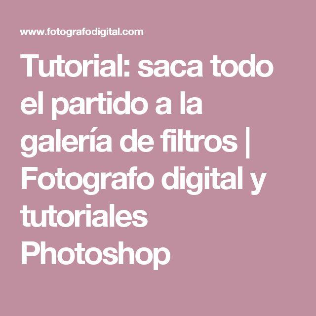 Tutorial: saca todo el partido a la galería de filtros   Fotografo digital y tutoriales Photoshop
