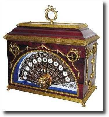 Antique English Shelf Novelty Clock. WOW, LOOKS FAB!<3 @