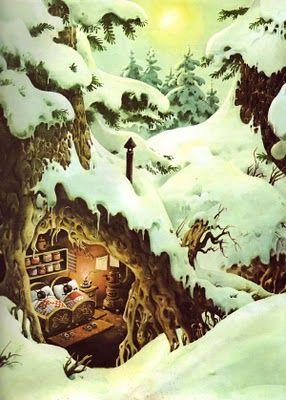 image from : ''The woodland folk in Fairyland'', ''Οι νεράιδες του δάσους'' Tony Wolf.