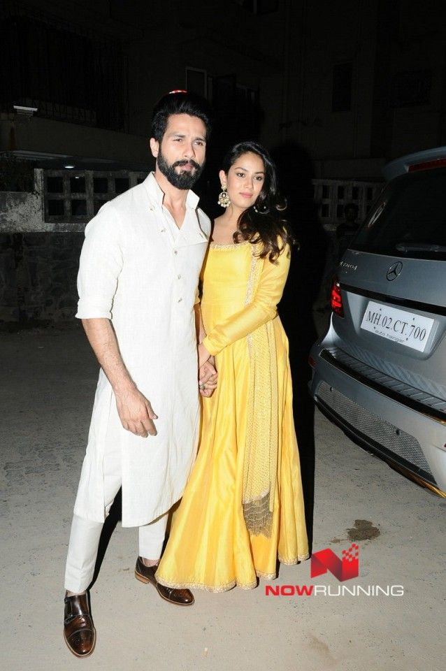 Shahid Kapoor & Mira Rajput grace Gaurav and Mandana's wedding party
