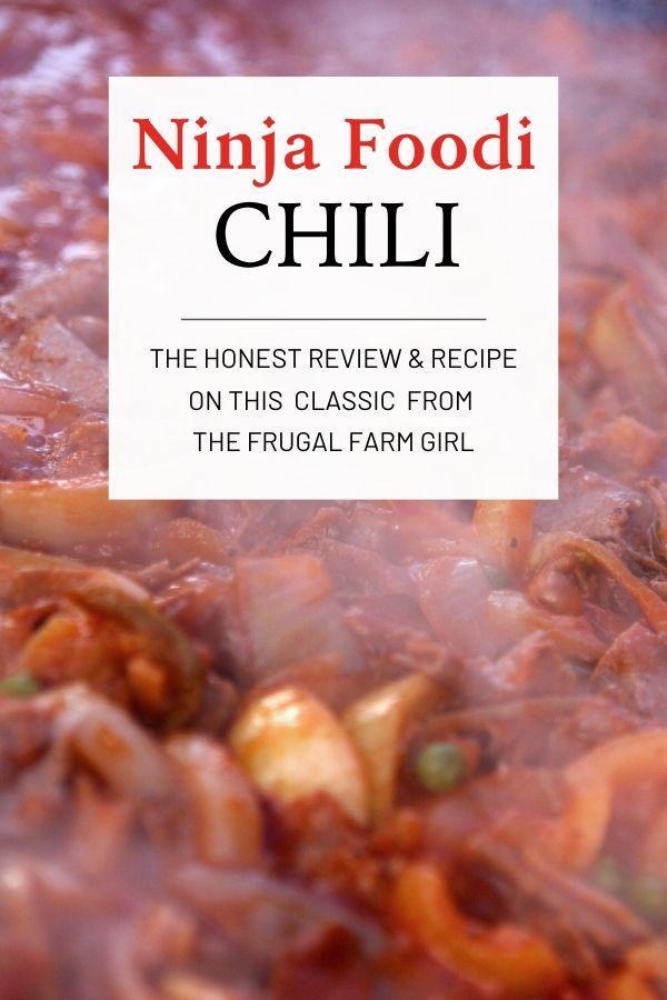 Ninja Foodi Chili Recipe Chili Recipes How To Cook Chili Ninja Recipes