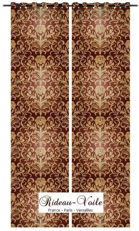les 84 meilleures images du tableau rideau tissu style empire fleur de lys ameublement sur. Black Bedroom Furniture Sets. Home Design Ideas