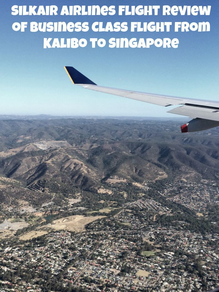 SilkAir Airlines Flight review of Business Class flight from Kalibo to Singapore