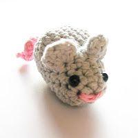 Annemarie's Haakblog: A new friend and the mouse pattern - Een nieuw vriendje en het patroon van de muis