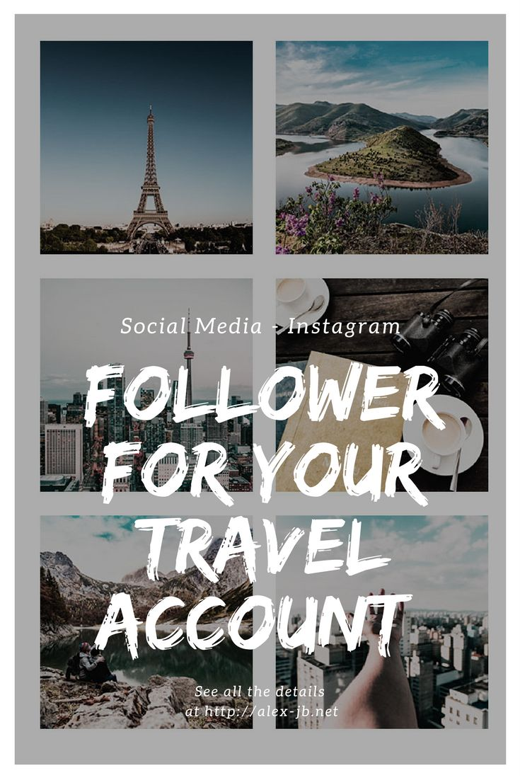 More followers for your Instagram Travel Account. Tips and tricks how to increase your reach. + Hashtag List  German Article, Hashtags include English and a few German ones