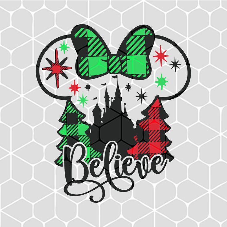 Believe christmas SVG Files For Silhouette, Files For