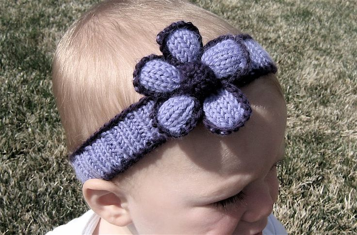 Knitting Headband For Baby : Free knitted headband patterns rather be knitting