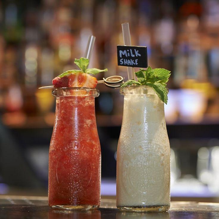 Δύο ποτήρια μπουκαλάκια από τη Libbey, για χυμούς, ποτά και νερό. Διαστάσεις:5.8x13.7 Χωρητικότητα : 222ml