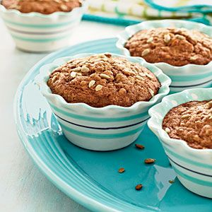 Whole Wheat Carrot-Nut Muffins | MyRecipes.com ~ These muffins are everything you love about carrot cake with plenty of cinnamon and cloves for added spice.