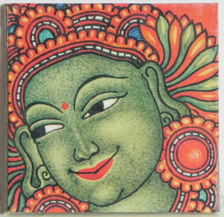 65 best images about kerala mural on pinterest murals for Canvas mural painting