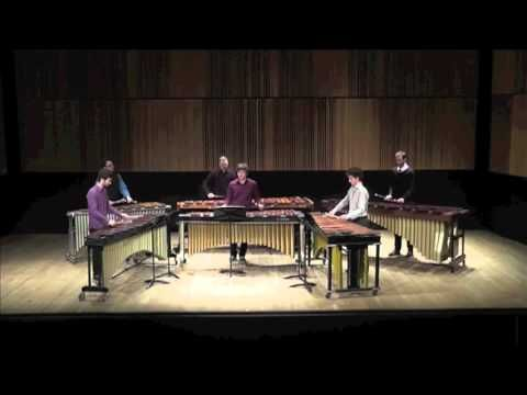 Steve Reich's Six Marimbas from my final undergraduate recital at Mcgill University. Performed by: Colin Van de Reep, Noam Bierstone, Sandro Valiante, Mark M...