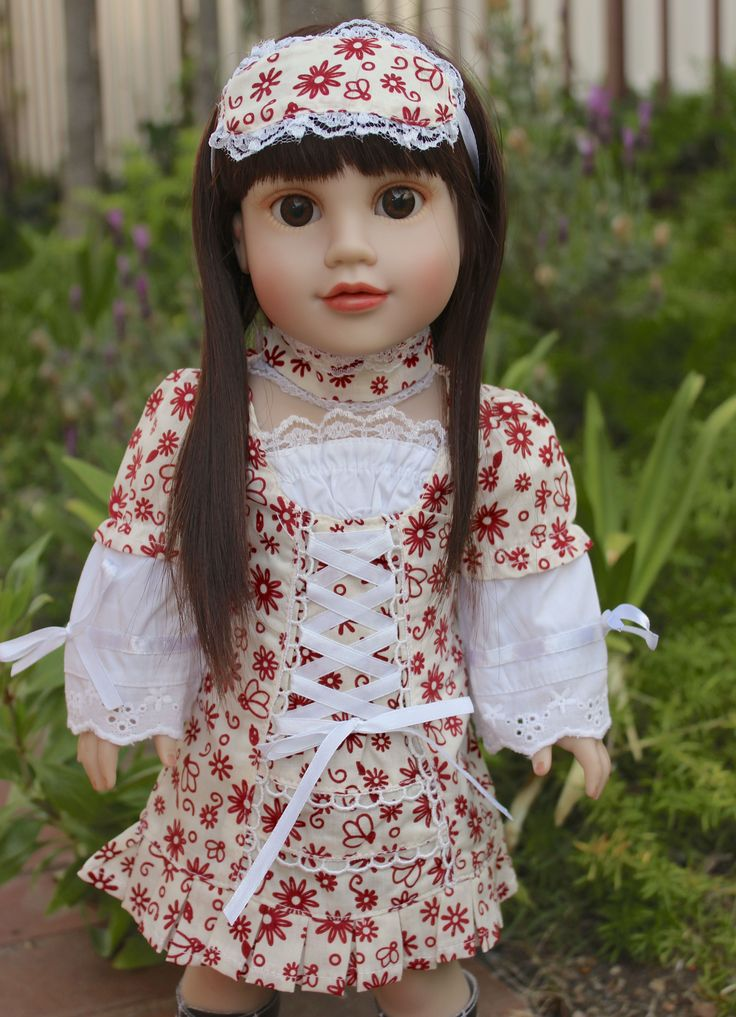 """18"""" DOLLS AND DOLL CLOTHES. Fits American Girl Dolls. www.harmonyclubdolls.com"""