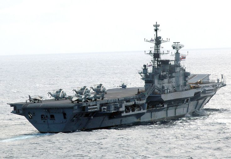 Picture of the INS Viraat (R22) The INS Viraat R22 was an ex-British Royal Navy aircraft carrier received by the Indian Navy in 1986.