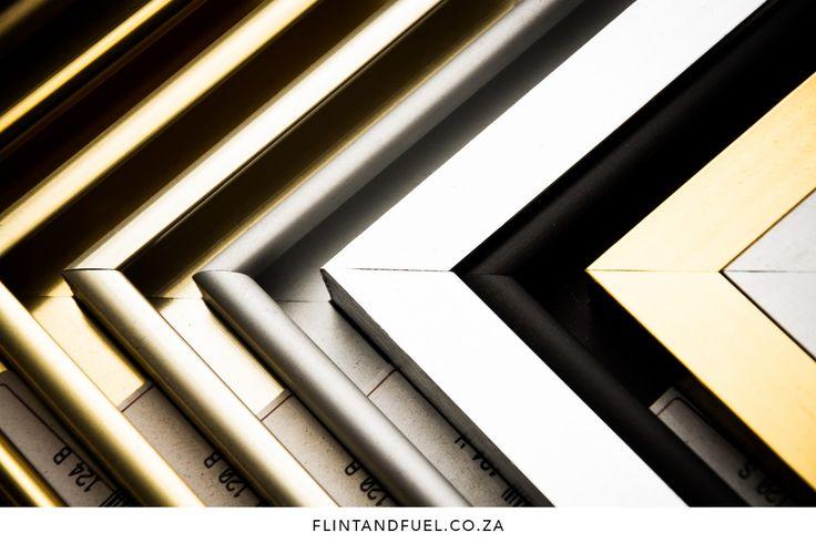 framing in silver