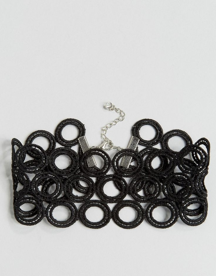 Изображение 2 из Короткое кружевное ожерелье Missguided