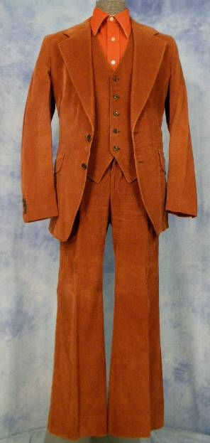 70s disco men's suit.