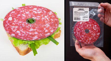 Salami CD Packaging