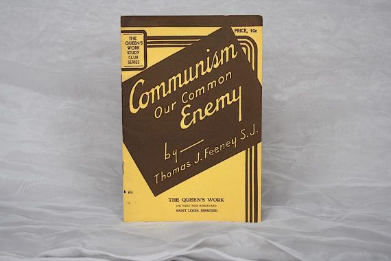 Anti Communism Propaganda  Vintage Politcal by HappyFortuneVintage
