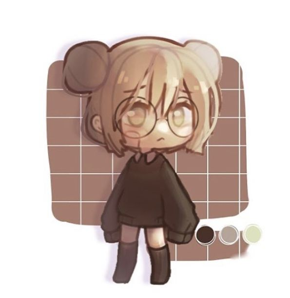 Meet Tiseku Idk I Just Made Up Her Name And Time Took Was 40 Min Cute Anime Character Cute Anime Chibi Cute Kawaii Drawings