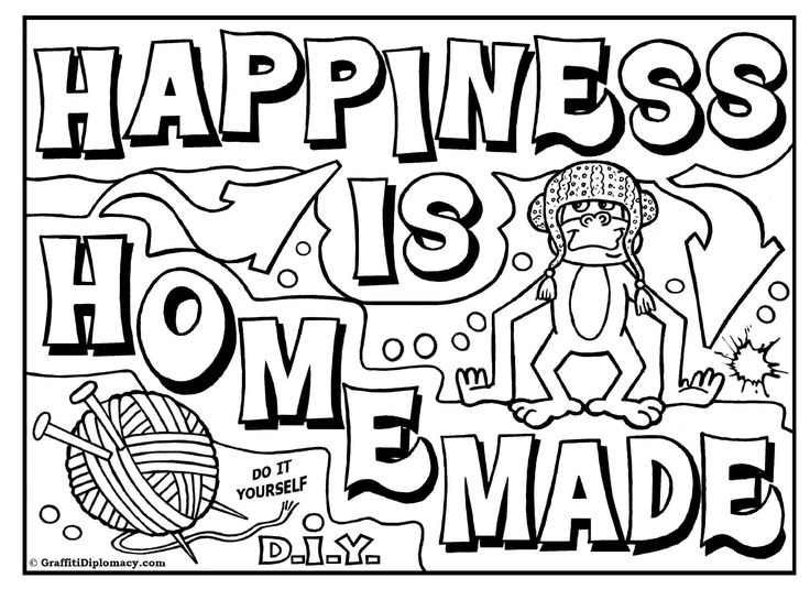 coloring pages graffiti letters | 27 best images about Free Coloring Pages For Kids ...