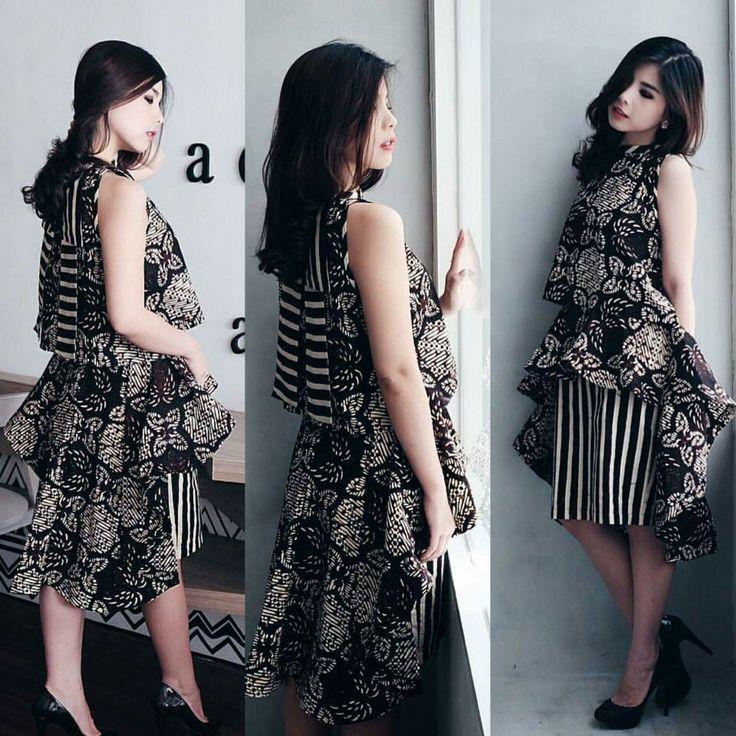 dress, top, blouse  batik indonesia