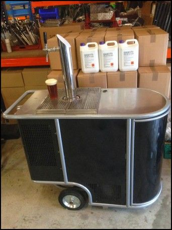 Portable Bar On Wheels