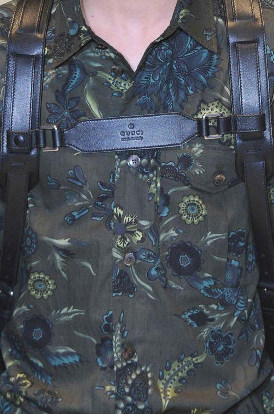 patternprints journal it: STAMPE E PATTERNS DALLE SFILATE DI MILANO MODA UOMO S/S 2014 /     Gucci