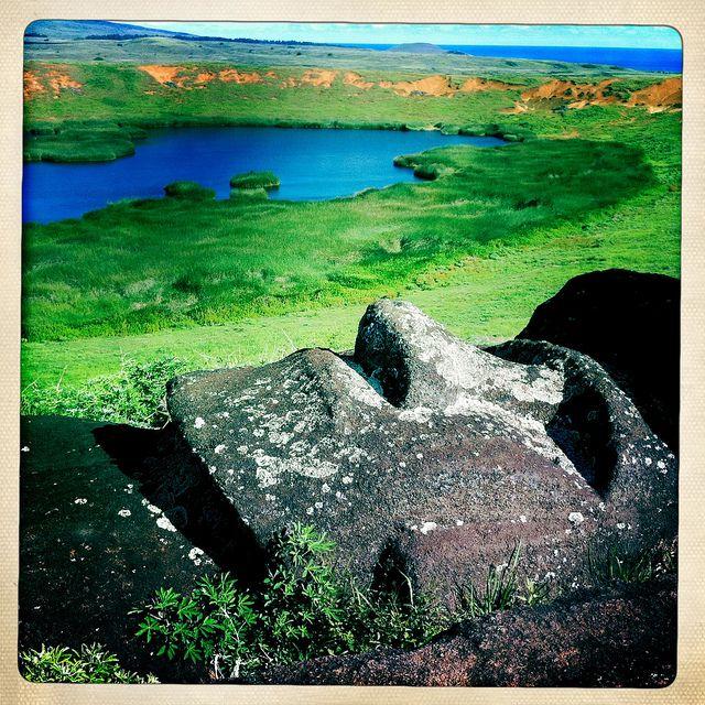 Hanga Roa National Park, Easter Island, Chile.