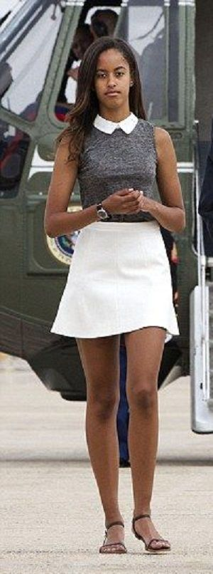 First Daughters Malia.