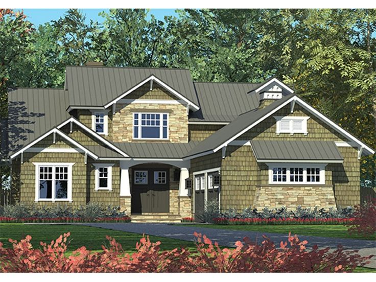 Craftsman Style Plan With 2494 Square Feet And 3 Bedrooms From Dream Home Source