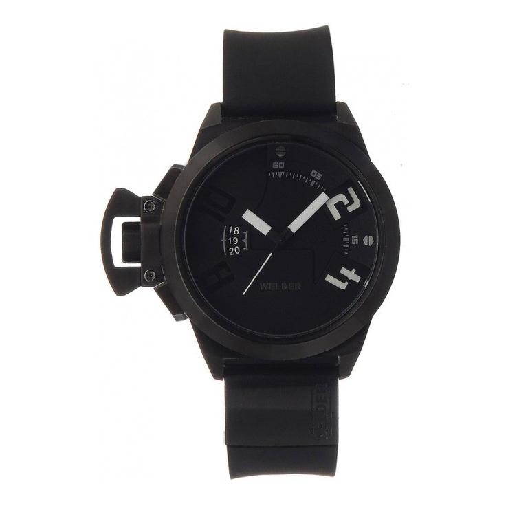 watchsupermarket.co.uk - Unisex Welder Big Faced Black Watch - K24 Series