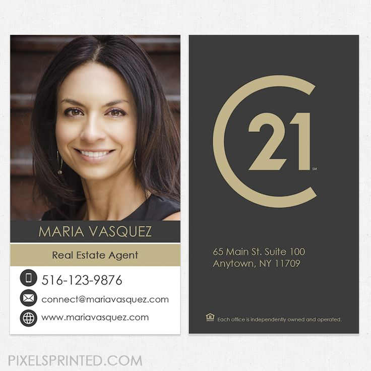 Century 21 Business Cards Image collections - Business Card Template