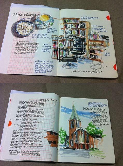 Artists' Journal Workshop: Sketchbook vs Journal