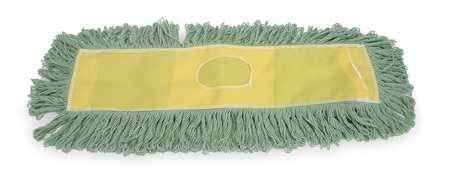 Cut-End Dust Mops Cut End Dust Mop,48 In,Green by VALUE BRAND. $28.57. Dust Mop, Material Cotton/Polyester, GreenLength 48 In., Width 5 In., Opening Type Slot, 2 Ply
