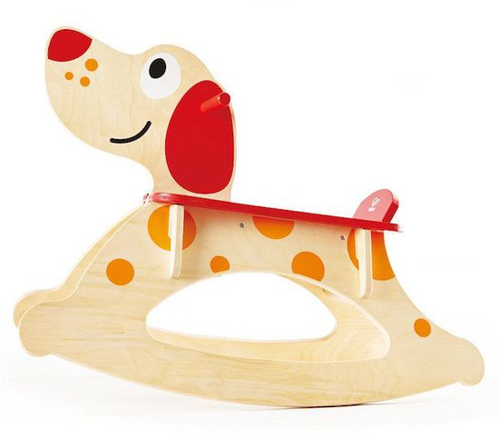 Rocking Puppy Ride on | HAPE Toys | Buy online at DirectToys NZ