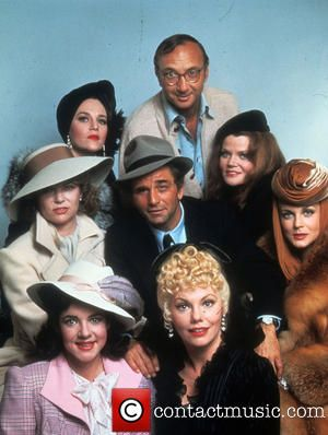 Stockard Cahnning, Louise Fletcher, Madeline Kahn, Neil Simon, Eileen Brennan, Ann-Margaret, Marsha Mason and Peter Falk - The Cheap Detective (1978) directed by Robert Moore shown clockwise from lower left: Stockard Cahnning, Louise Fletcher, Madeline Kahn, Neil Simon, Eileen Brennan, Ann-Margaret, Marsha Mason center: Peter Falk - United States - Wednesday 26th July 1978