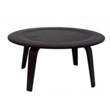 EAMES PLYWOOD COFFEE TABLE BLACK OAK VSTGLKCTS155