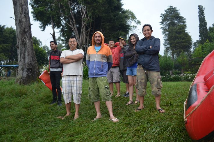 Rafting @Pangalengan 2014